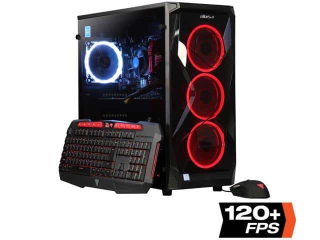 ABS Summoner Intel i7-8700 GeForce RTX 2070 16GB DDR4 -240GB SSD + 1TB HDD Win10  $1099.99 + Free Shipping