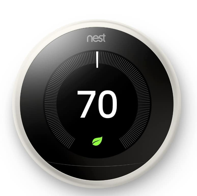 Nest Learning Thermostat (3rd Generation, White) $159.20 AC or w/ Google Mini Home Smart Speaker $175 AC & More + FS