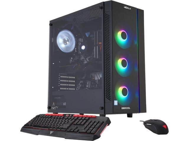 ABS Mage H - Intel i7-9700K - GeForce RTX 2070 - 16GB DDR4 - 1TB SSD Win10 $1399.99 + Free Shipping