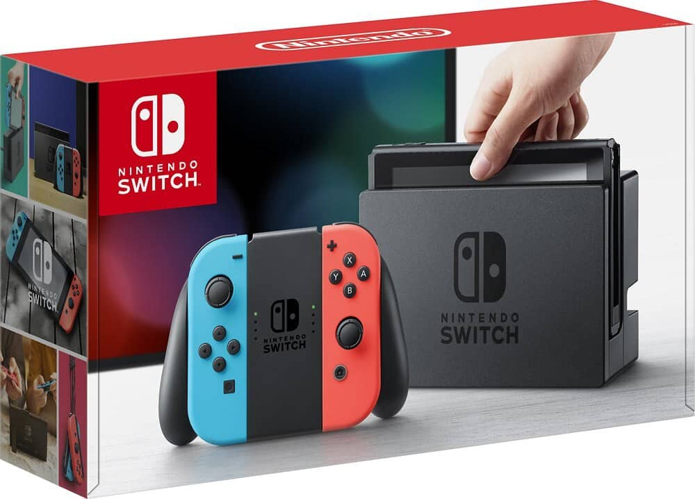 Nintendo Switch Console With Blue/Red Joy-Con : $254.99 AC + Free Shipping