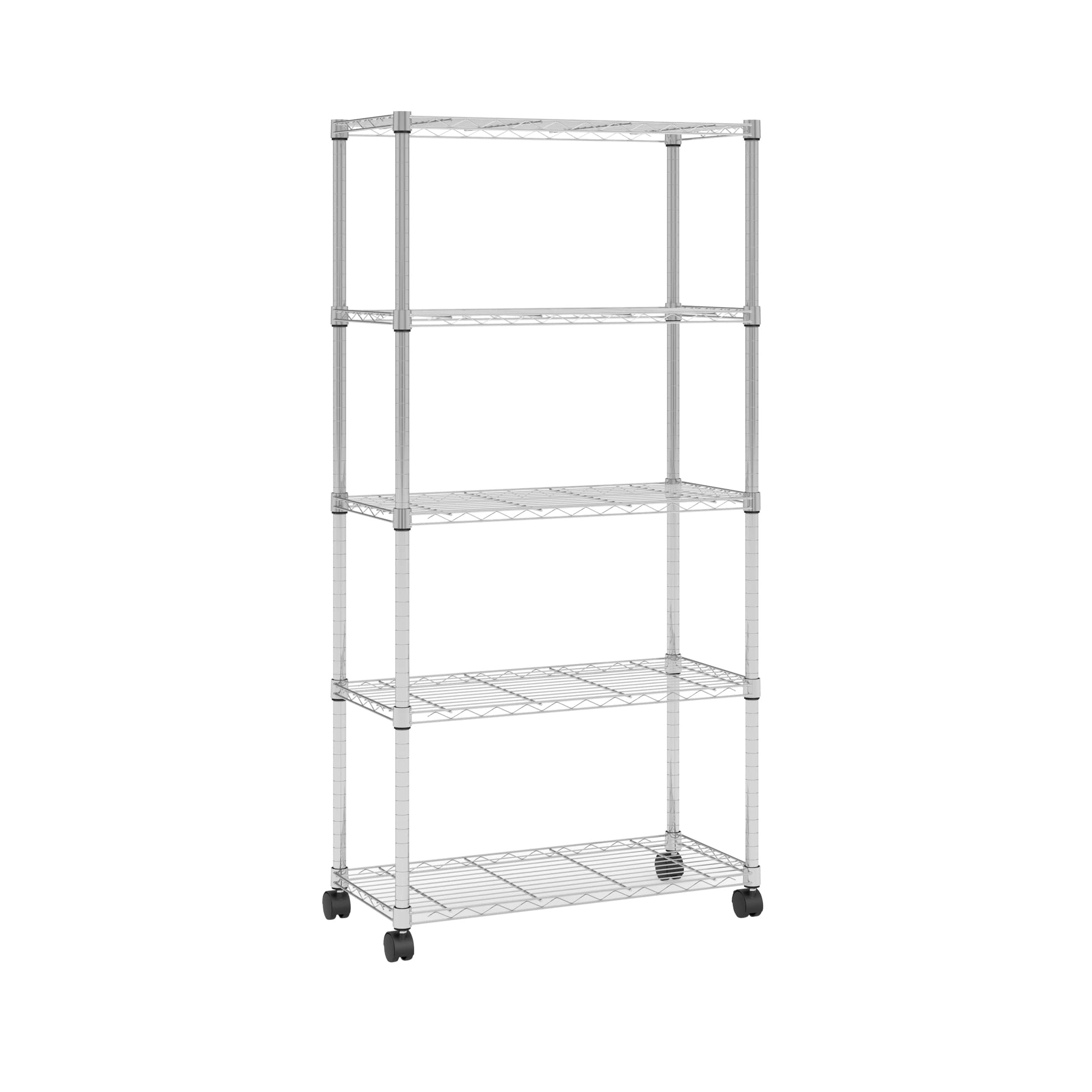 OFM Adjustable Wire Shelving Unit 30 X 60, In Chrome (S306014-CHRM) :  $51.99 AC + Free Shipping