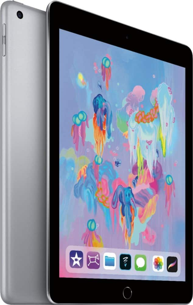 Apple iPad 9.7in 32GB Wi-Fi Tablet (2018) - Space Gray -$239.99 + FS