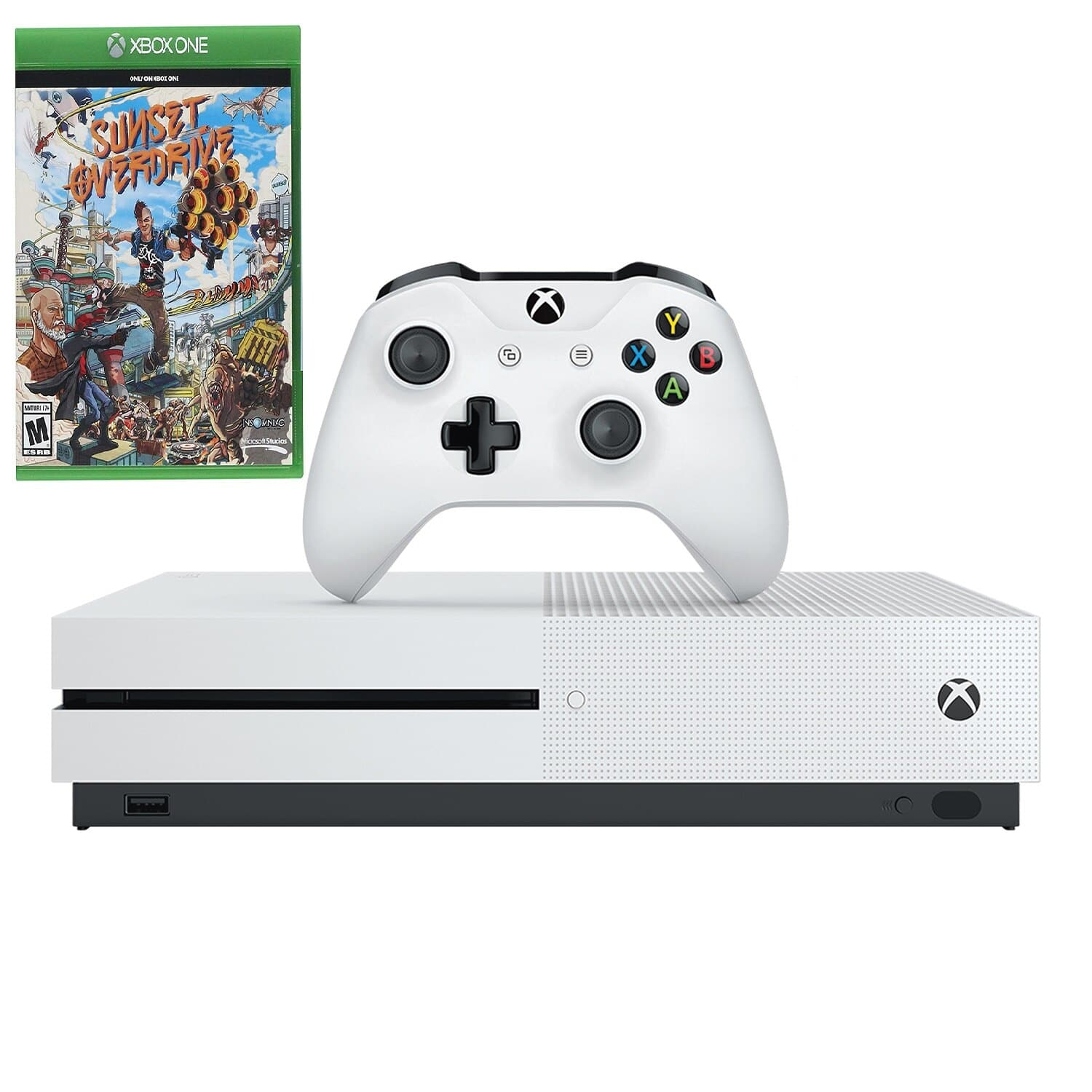 Microsoft Xbox One S 1TB Console + Sunset Overdrive Game - $179.99 + Free Shipping