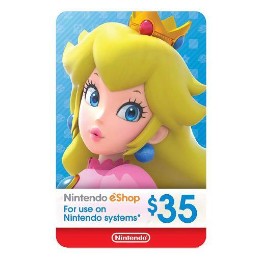 Nintendo $35 eShop Digital Code (Email Delivery) - $30.99