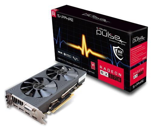 Sapphire 11266-36-20G Radeon Pulse RX 570 8GB GDDR5 Dual HDMI/DVI-D/Dual DP OC with Backplate (UEFI) PCI-E Graphics Card $129.99 + FS