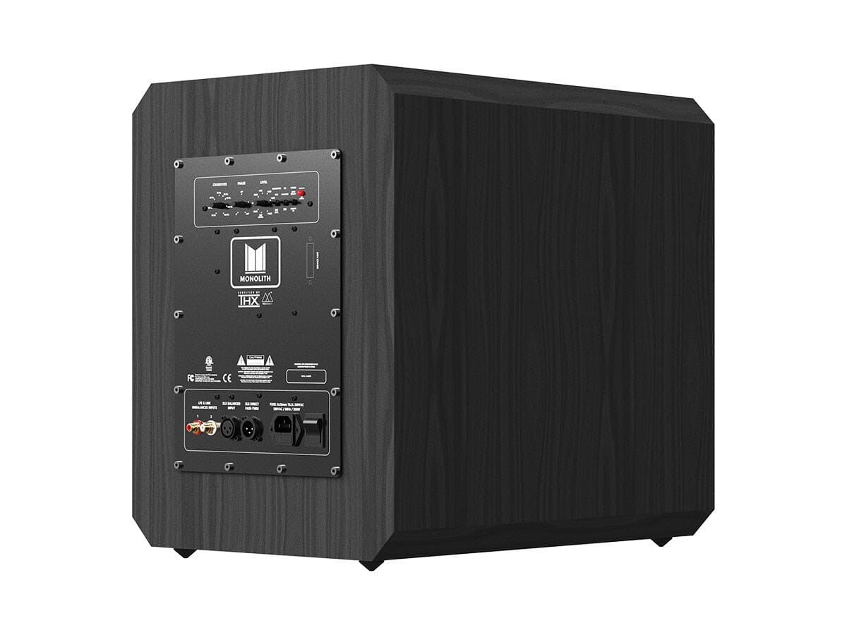 Monoprice Monolith 10-Inch Powered Subwoofer : $449.99 AC +  $90.00 back in points + Free Shipping