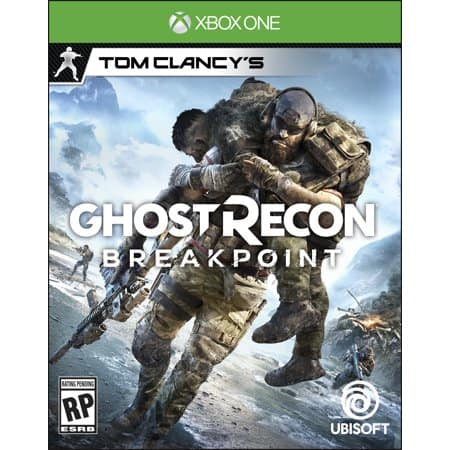 Ghost Recon Breakpoint Xbox One or PS4 for $49.94 + Free Shipping