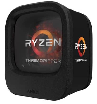 AMD RYZEN Threadripper 1900X 8-Core / 16 Threads 3.8 GHz Socket sTR4 Desktop Processor CPU + Free HP 250GB PCIe NVMe SSDSSD $244.99