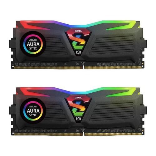2x 8GB GeIL SUPER LUCE RGB DDR4 3000 Desktop Memory $61.99 + Free Shipping