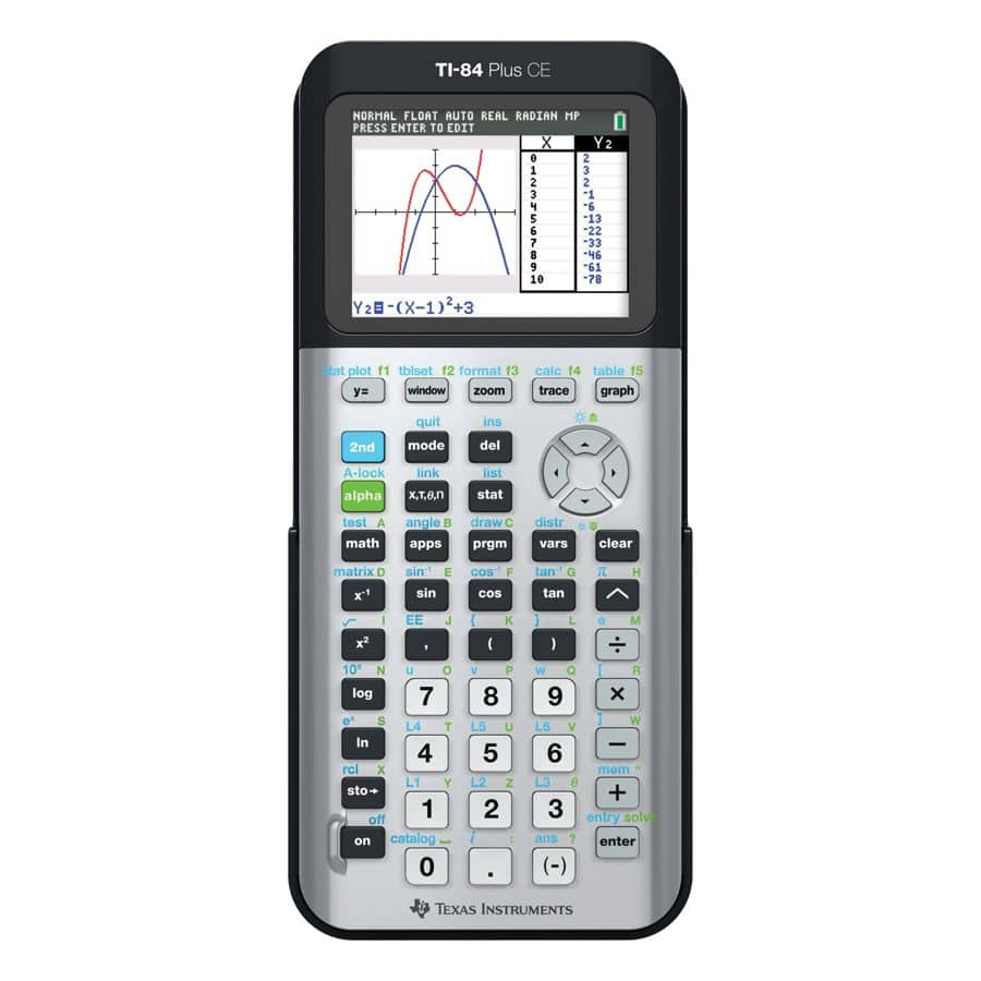 Texas Instruments TI-84 Plus CE Color Graphing Calculator (Multiple Colors) $111.99 AC + $12.21 back in points + FS