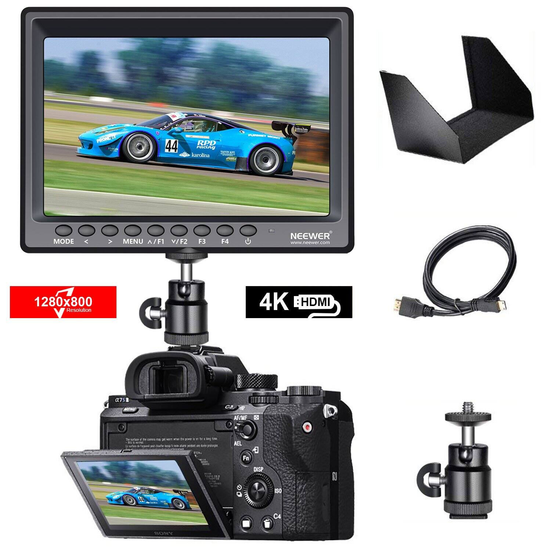 """Neewer F100 7"""" IPS Camera Field Monitor $81.24 + FSSS ***DJ3 Posted"""