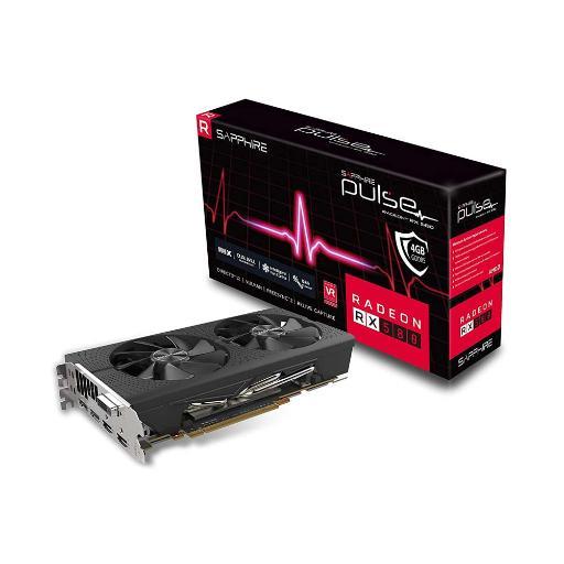 Sapphire Radeon PULSE RX 580 4GB PCI-E Graphics Card - $138.99 + FS