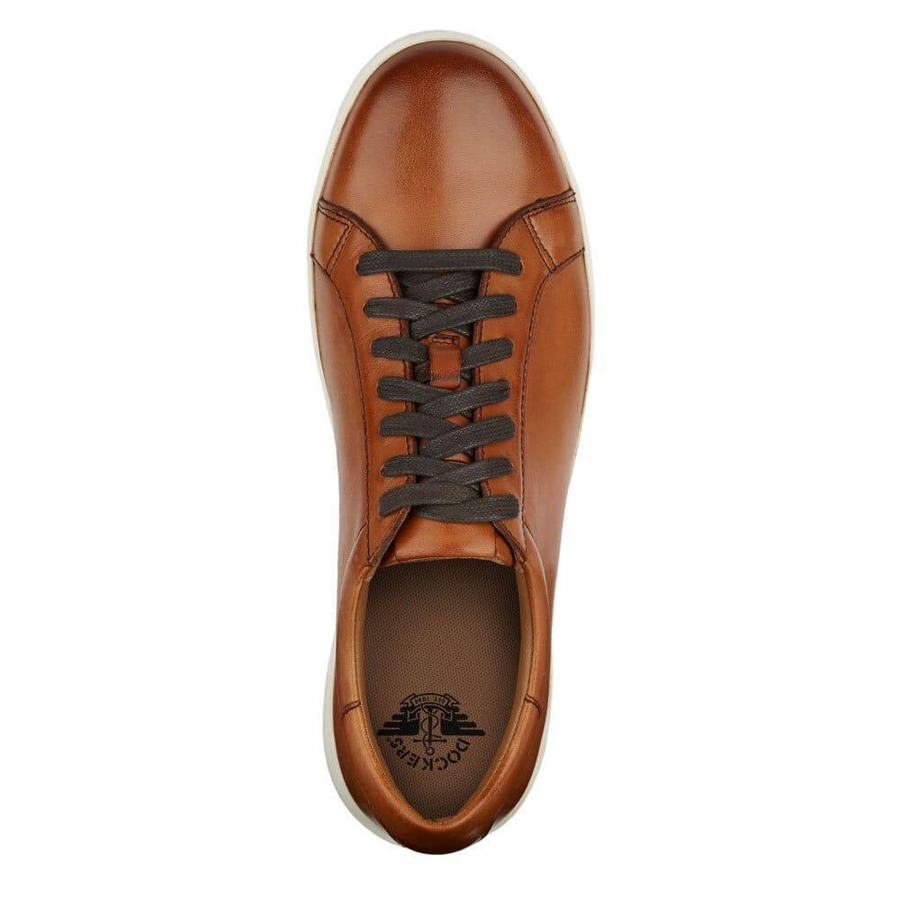 Dockers Men's Gilmore Leather Casual Fashion Sneaker Shoe for $31.99 AC + FS
