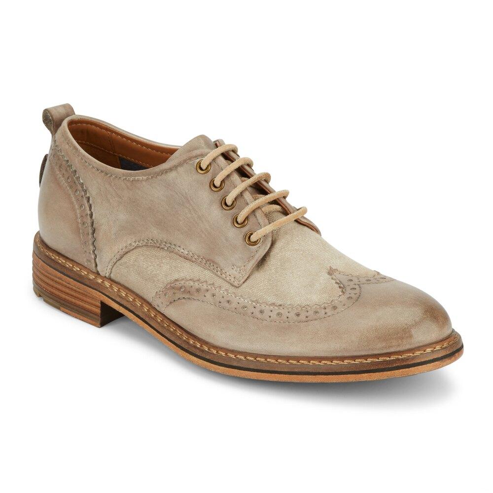 Lucky Brand Men's Hudson Leather Wingtip Oxford Shoe :  $31.99 AC + FS