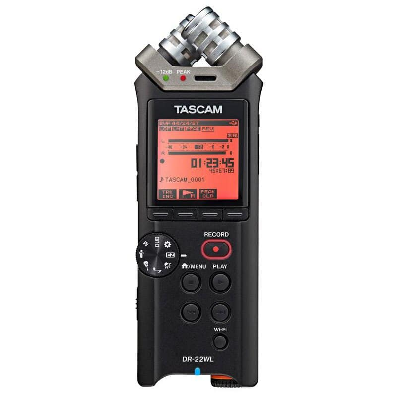 Tascam DR-22WL Portable Handheld Audio Recorder with WiFi: $76.46 AC + FS