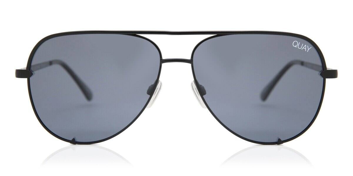 Quay Australia QC-000268 HIGH KEY MINI BLK/SMK 61 New Unisex Sunglasses :  $47.88 AC + FS