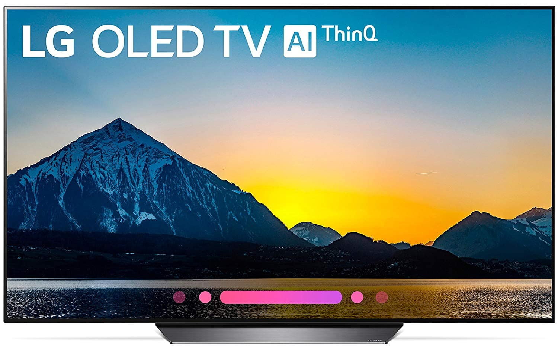 LG OLED65B8PUA 65-INCH 4K Ultra HD Smart OLED TV  $1450 AC + FS