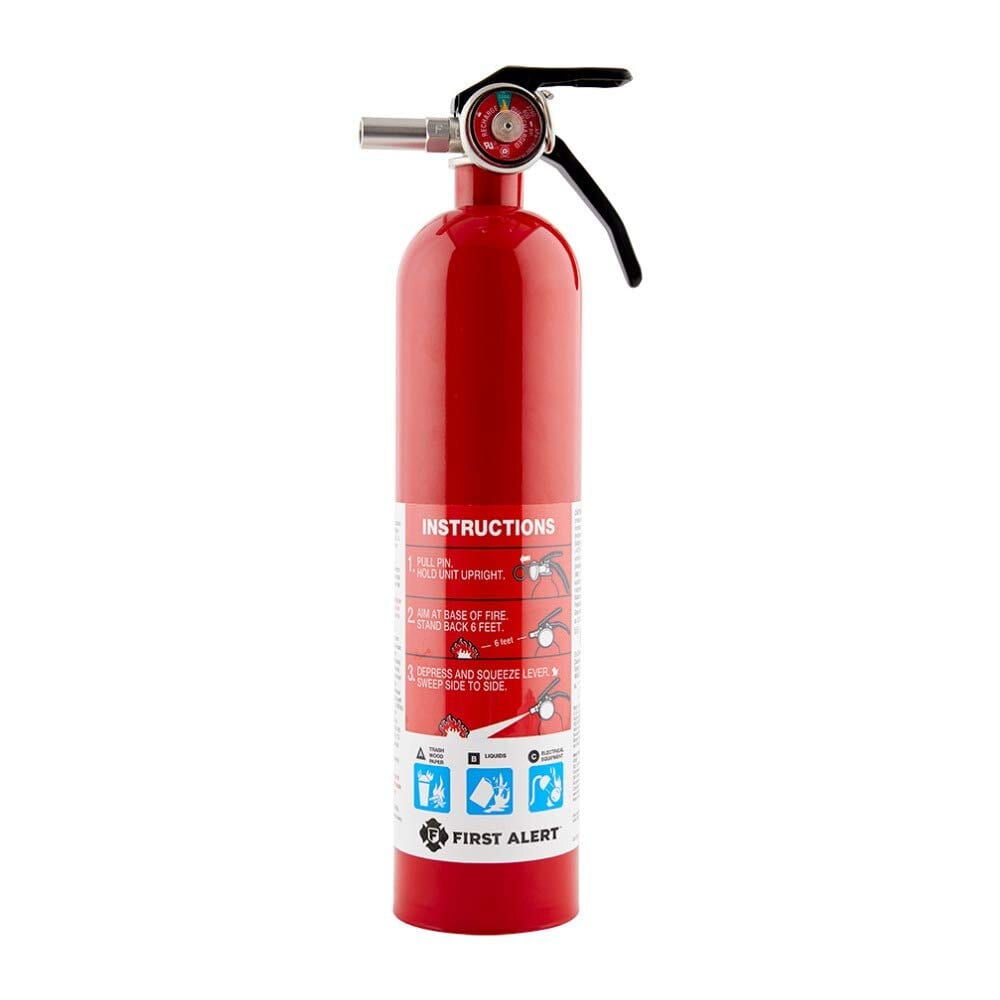 First Alert Home Fire Extinguisher - 4 Pack : $70.51 AC + FS
