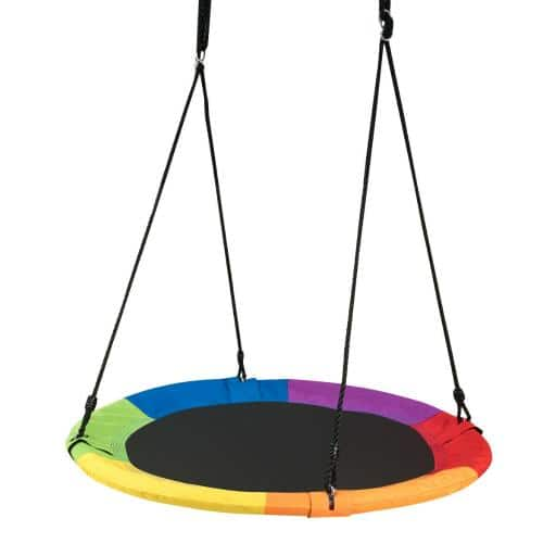 """40"""" Flying Saucer Tree Swing Outdoor Play for Kids - $38.99 Shipped"""
