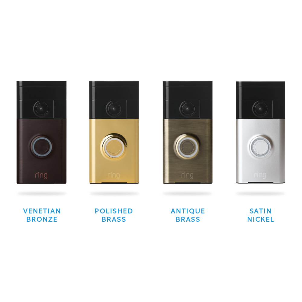 Ring Video Doorbell WiFi Motion Activated Camera and Two Way Audio : $62.86 AC + FS