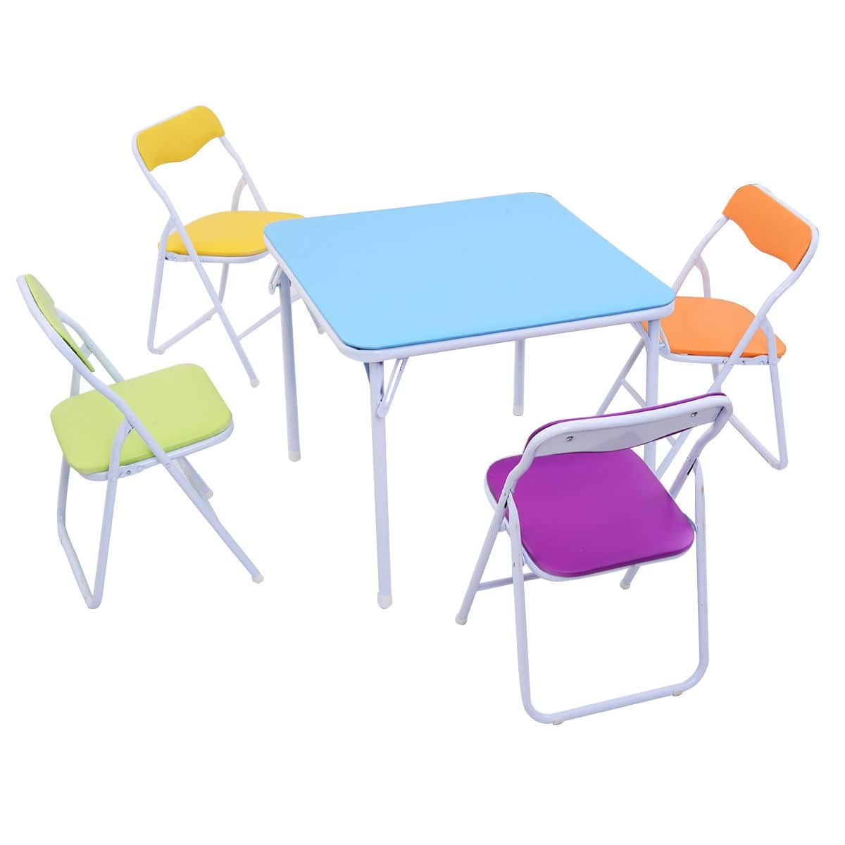 Set of 5 Multicolor Kids Table and Chairs  - $57.95 + Free Shipping