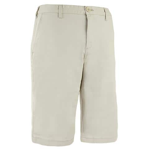 IZOD Men's Twill Flat Shorts 2 for $24 w/ Free Shipping