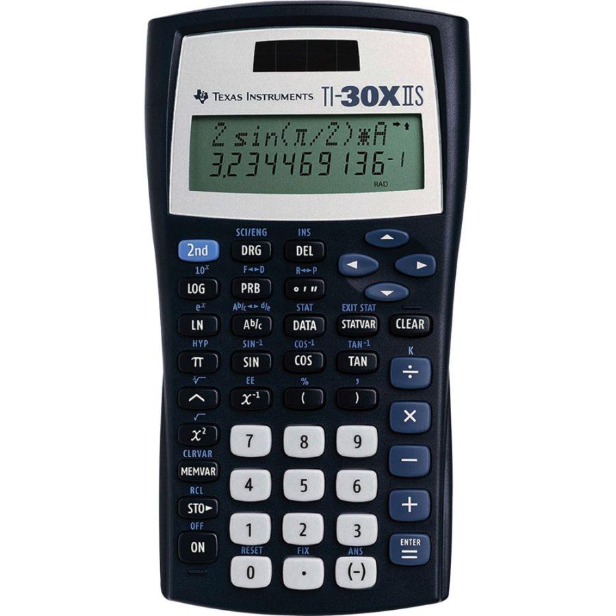 Texas Instruments TI-30X IIS Solar Scientific Calculator : $12.79 + $3 back in points + FS