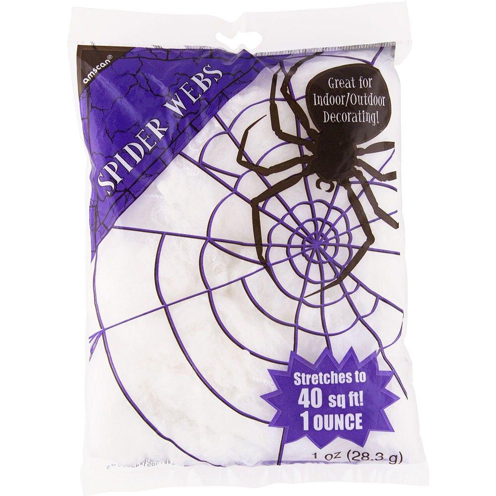 Party City Fog Machine Halloween Supplies, Include a 400W Fog Machine with Alarm, Fog Juice, and Stretchy Spider Webbing: $43.99 AC + FS
