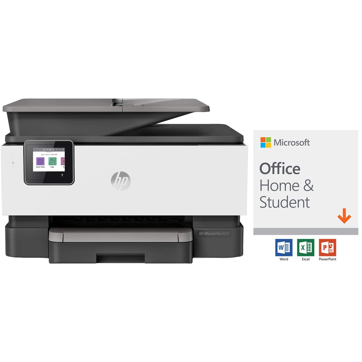 HP Officejet Pro 9015 Wireless All-in-One Color Inkjet Printer with Microsoft Office Home and Student 2019 $219.98 + $30 Newegg Gift Card