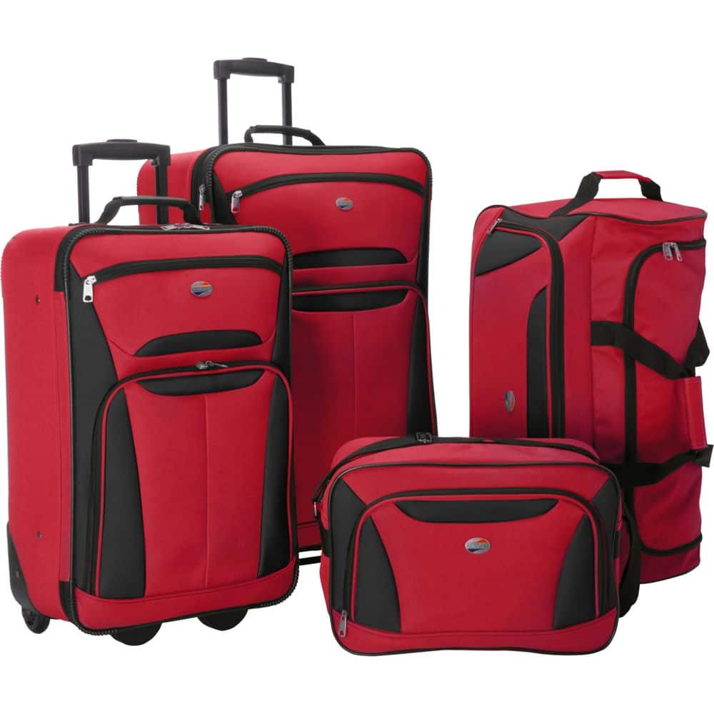 4Pc American Tourister Fieldbrook II Nested Luggage Set:  $55.99 AC+ $6.05 back in points + FS
