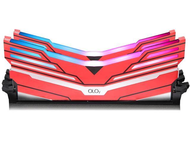 OLOy WarHawk RGB 16GB (8GB x 2) Intel/AMD Ready DDR4 3600 Memory Model MD4U083618BCDA $80 + FS