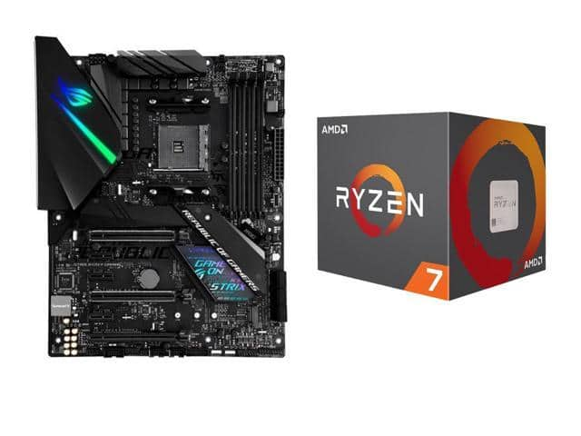 AMD RYZEN 7 2700 + ASUS ROG Strix X470-F Gaming $269 98 AR +