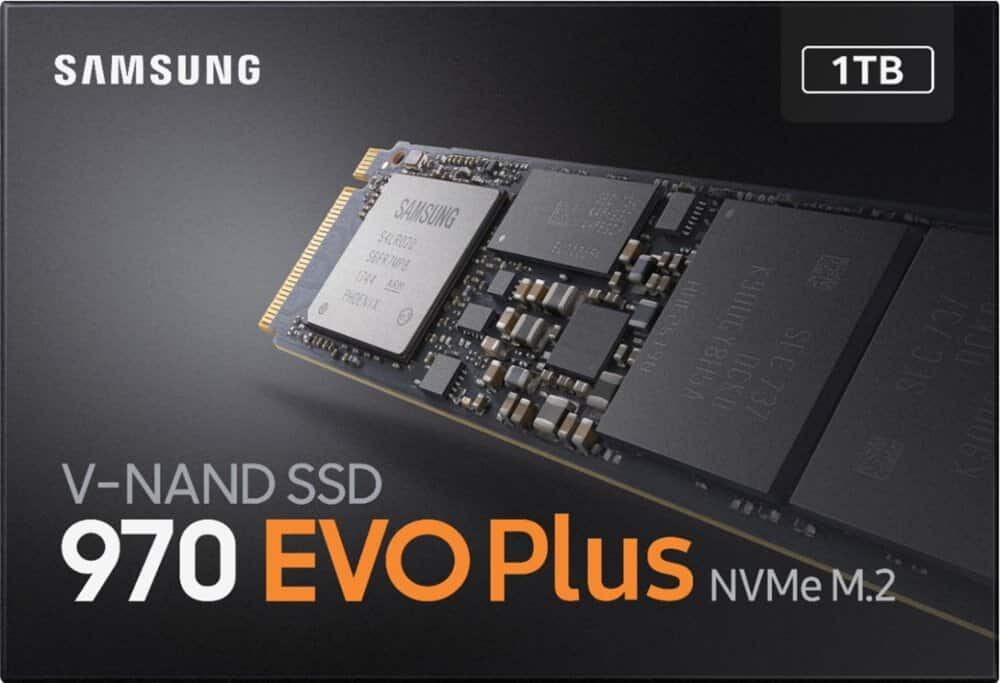 Samsung 970 EVO Plus Series -1TB PCIe NVMe - M.2 Internal SSD (MZ-V7S1T0B/AM) : $189.98 AC + FS