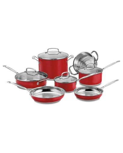 Cuisinart Chef's Classic 11pc Cookware Set - $105.99 + Free Shipping