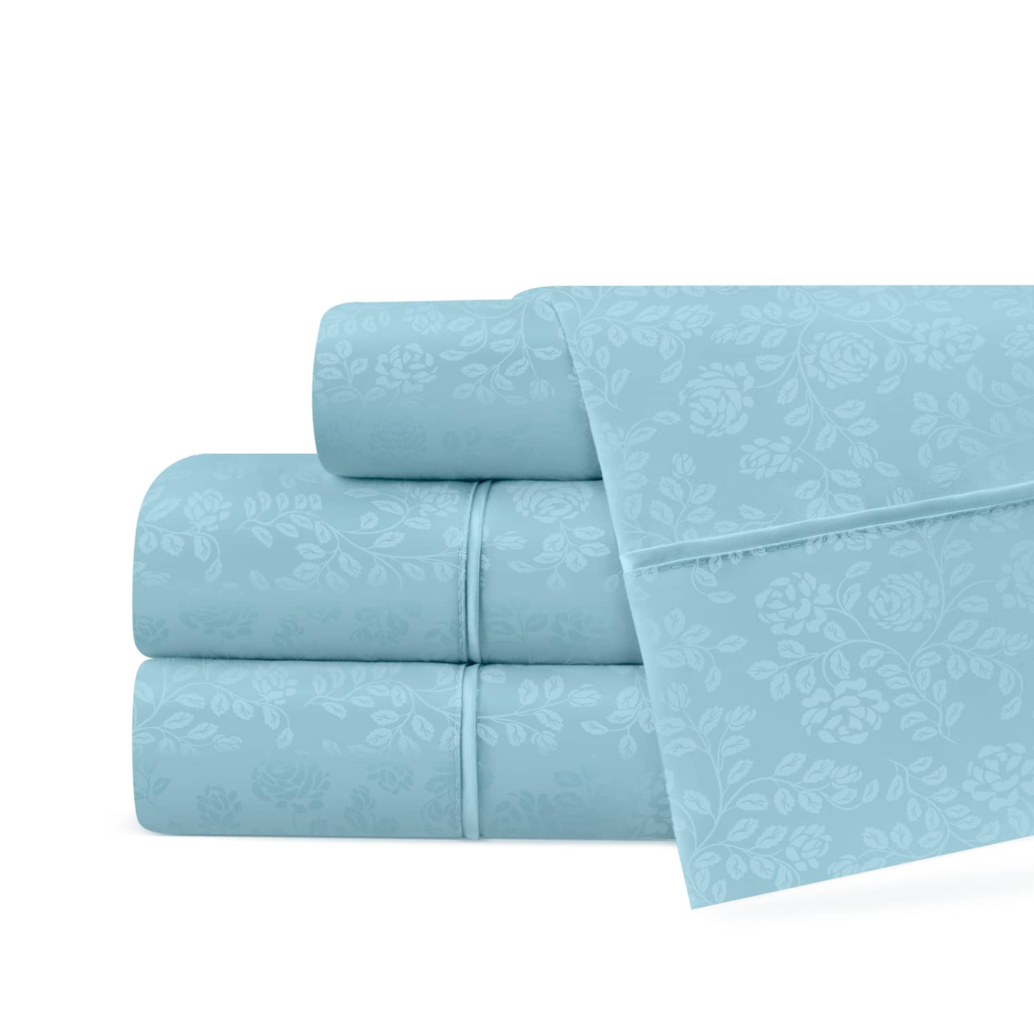 Linens and Hutch Floral Embossed Sheets: Starting at $19.17