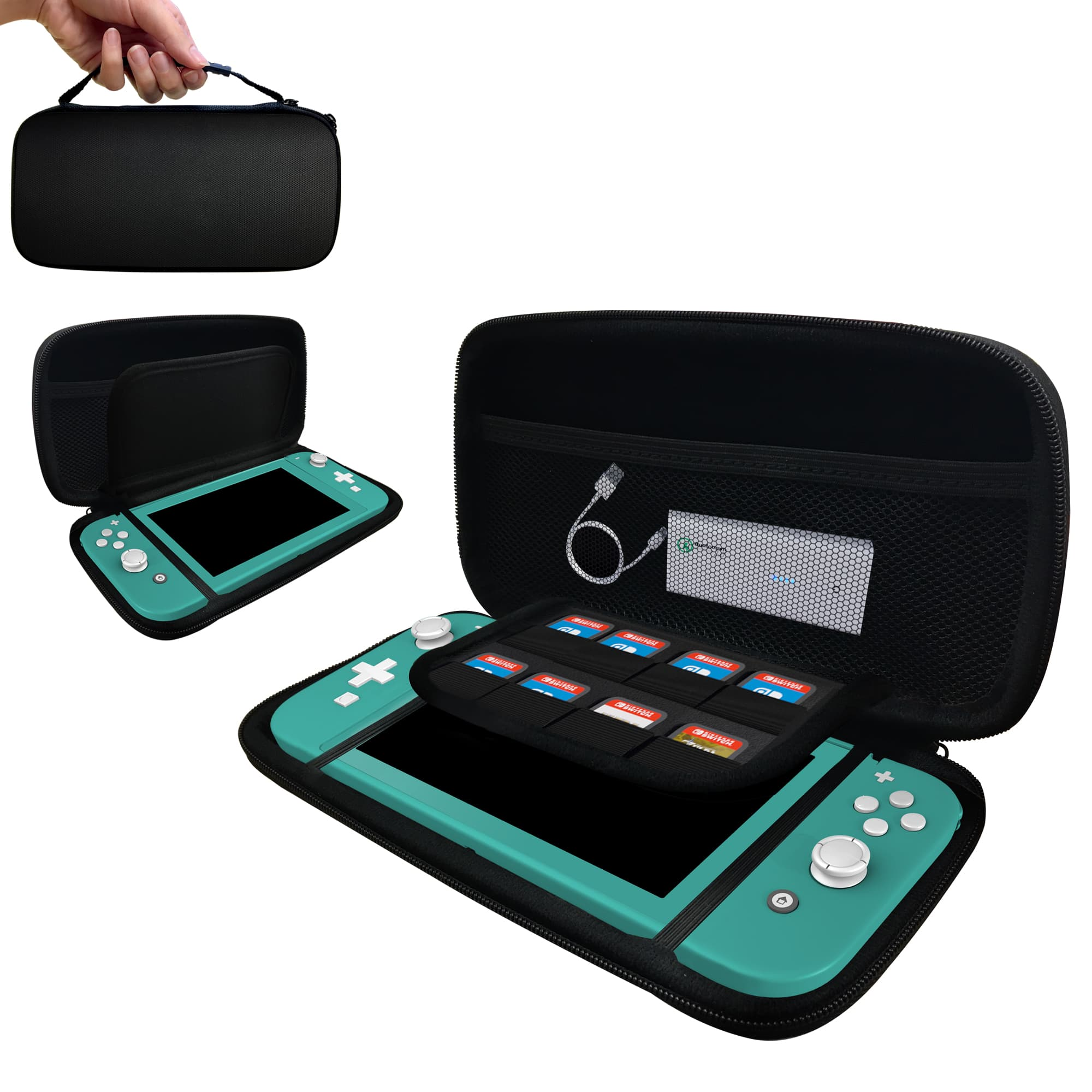 amCase Nintendo Switch Lite Carry Case $8.95 AC & More + FSSS