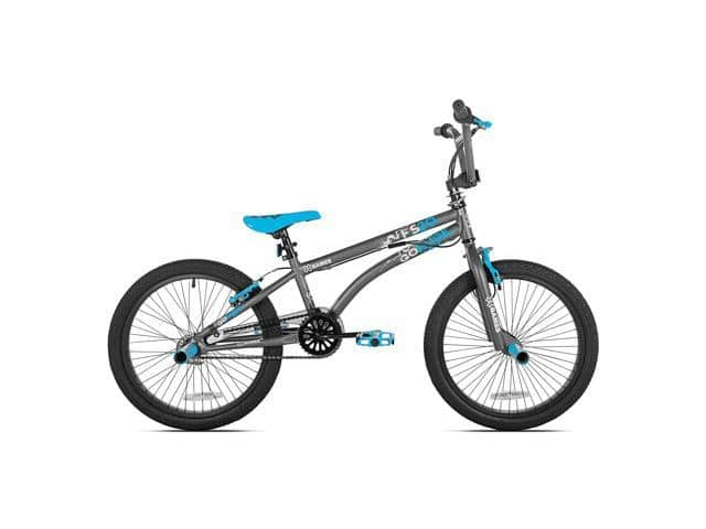 X Games FS20 Single Speed 20 Inch Wheel Freestyle Trick BMX Bike, Dark Grey - $119.99 - Free Shipping