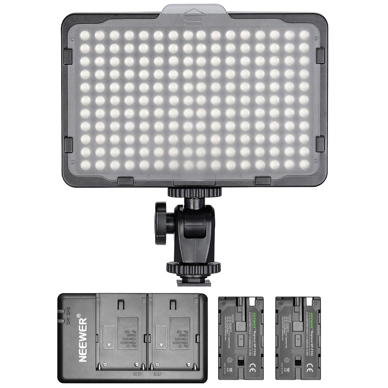 Neewer 176 LED Video Light & 2-Pack NP-F550 Charging Kit - $27.27 AC + FSSS