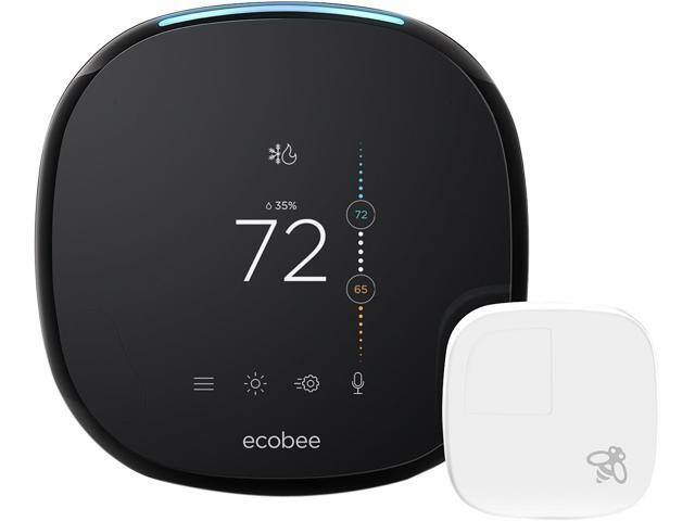 Ecobee4 Wi-Fi Thermostat w/ Room Sensor and Built-In Alexa Voice Service - $179.99 - Free Shipping