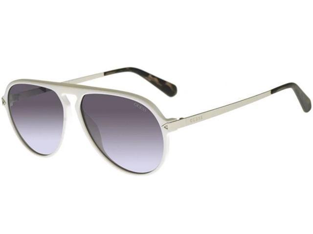 Guess Men's Browline Pilot Sunglasses w/ Gradient Lens $17.99 + Free Shipping
