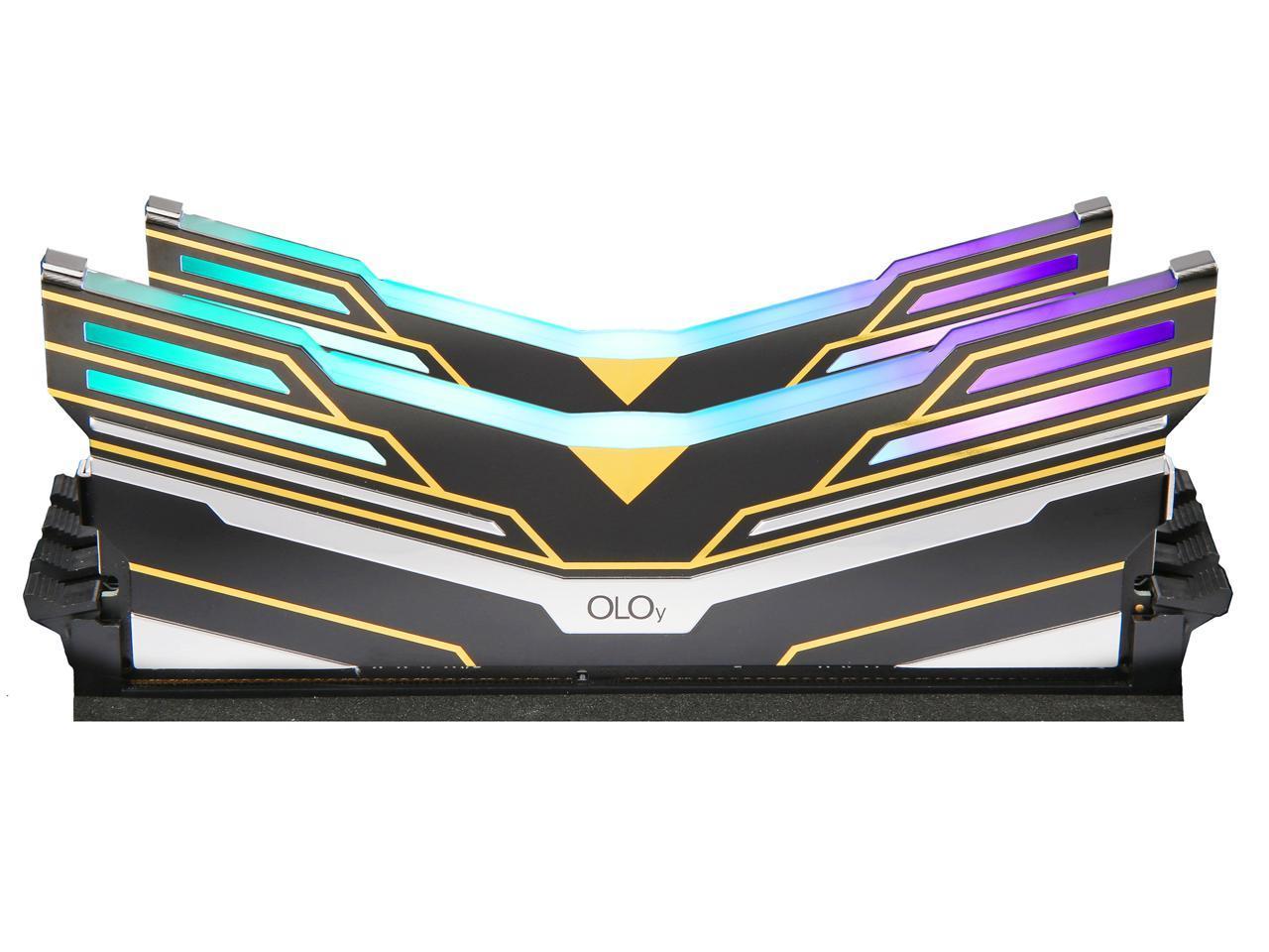 OLOy WarHawk RGB DDR4 3600 (PC4 28800) 16GB (2 x 8GB) $82.99