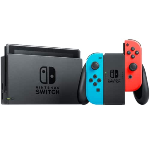 Nintendo Switch Refurbished 32GB Console Neon Blue/Red Joy-Con for $233.99 AC Shipped