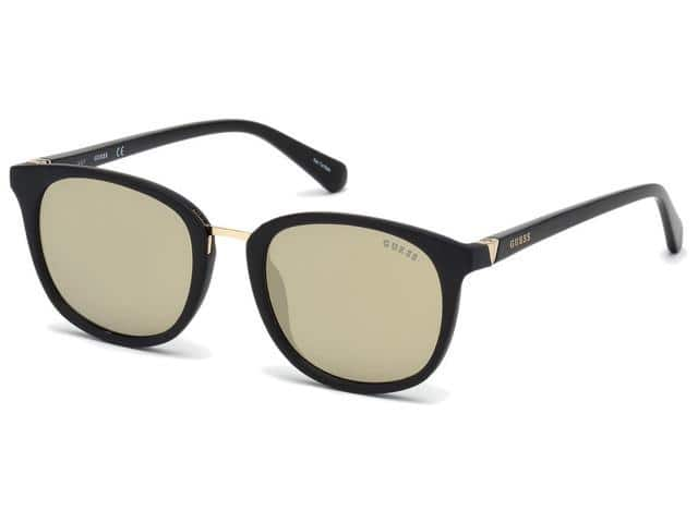 Guess Men's Classic Soft Square Sunglasses w/ Mirror Lens in 3 Colorways - $17.99 + FS