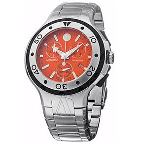 Movado Men's Series 800 Chronograph Watch (Orange, Red, or White) $299, Movado Men's 800 Series Watch (Black on Rubber Band) $209 each + Free Shipping