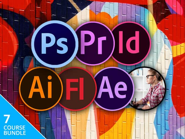 The Complete Adobe CC 7-Course Training Bundle (Lifetime Access) $7.25