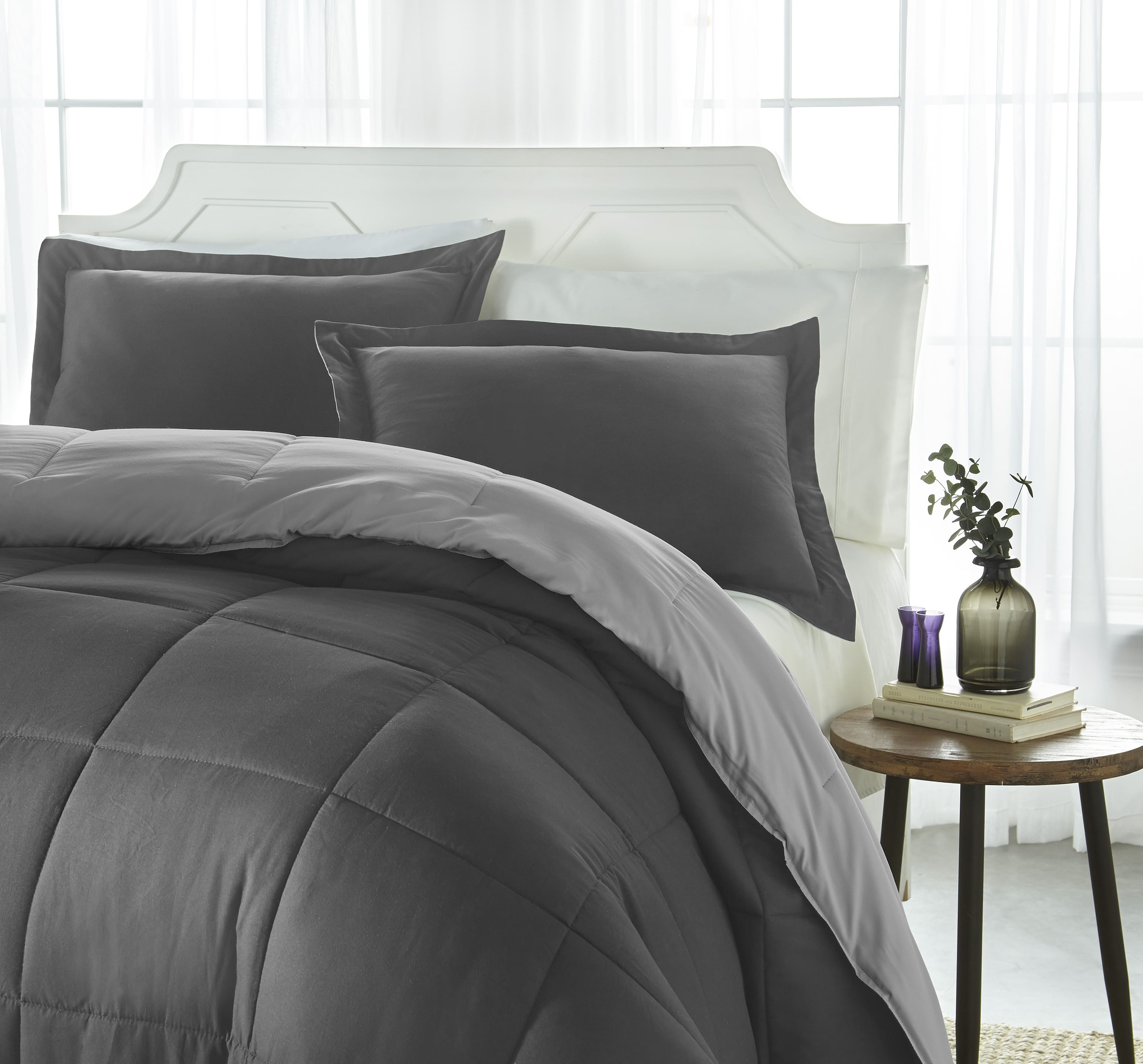Reversible Down Alternative Comforter Sets: Starting at $25.49 + FS