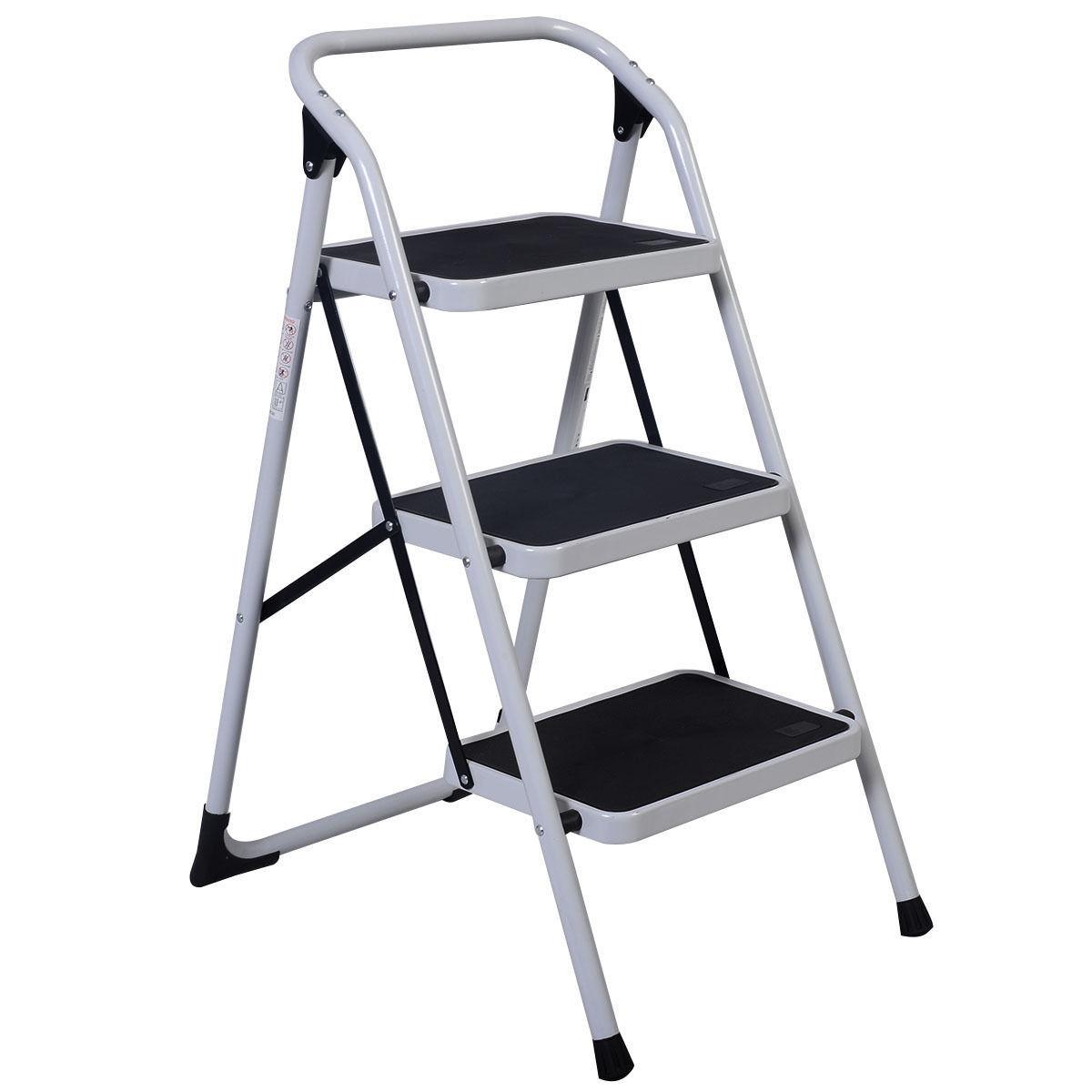 HD 3 Step Ladder Platform Lightweight Folding Stool - $38.95 + Free Shipping