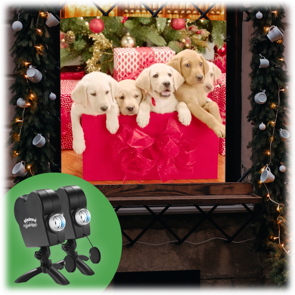 2-for-Tuesday: Window Wonderland Deluxe Holiday Projectors - $18 + Free Shipping