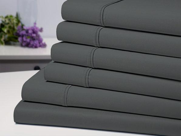 Bamboo Comfort Luxury Sheet Set (Grey/Queen) $29.25