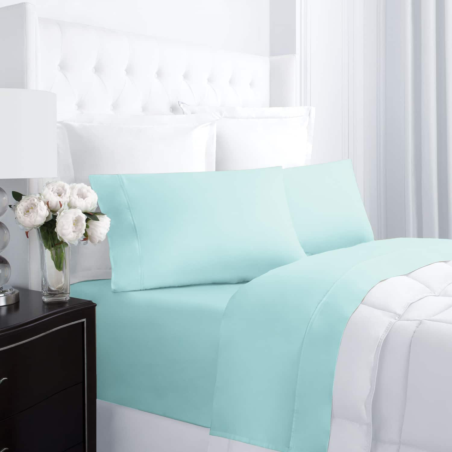 Linens & Hutch 300TC Cotton 4 Piece Sheet Set Starting at $31.34 + FS